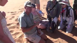 San Bushman Guide to Sossusvlei - Namibia