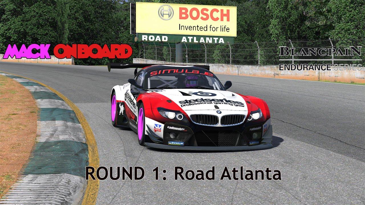 Blancpain Endurance Series - Road Atlanta - Mack Onboard