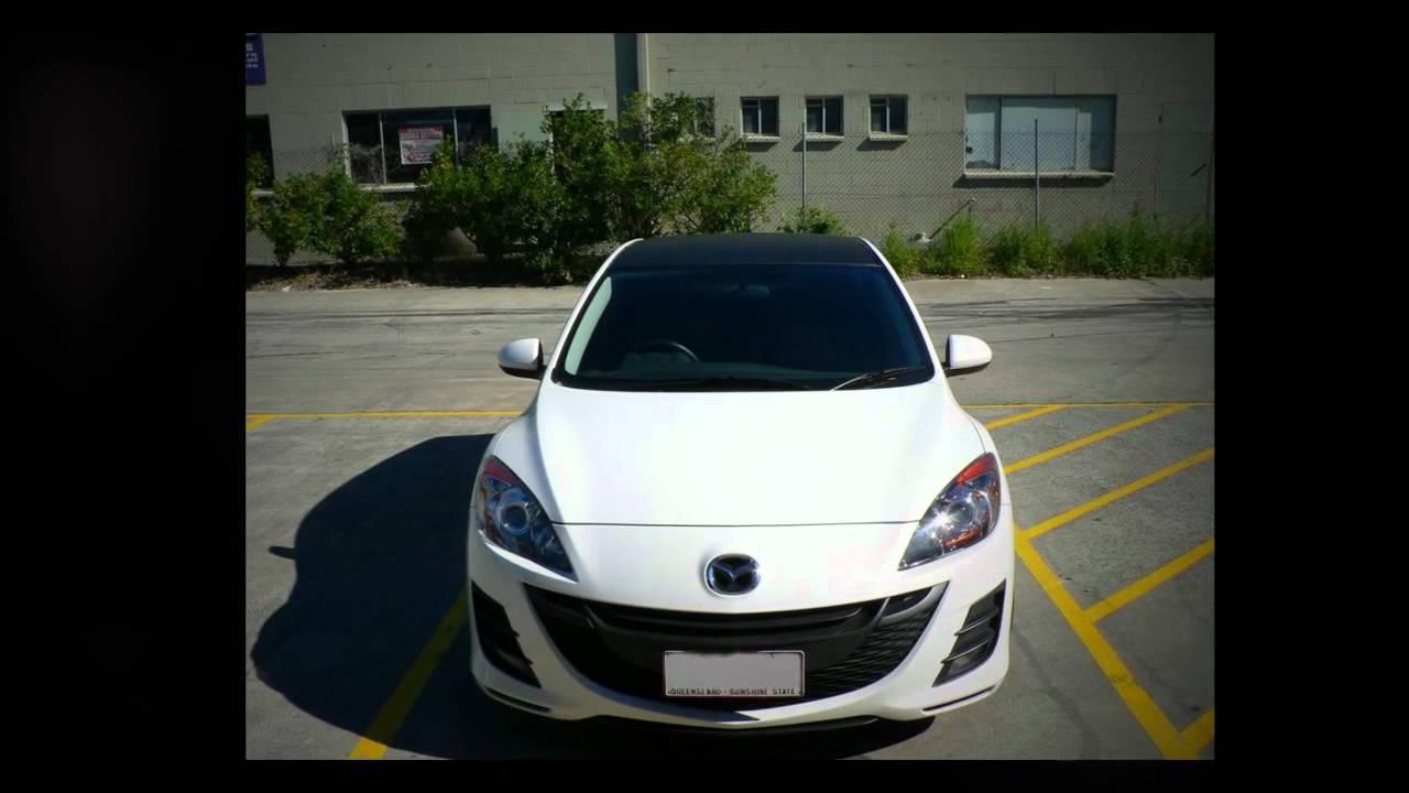 "Mazda 3 Custom >> Mazda 3 Hatch custom rims KMC 20"" inch Rockstar Black Wheels - YouTube"