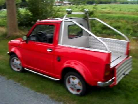 fiat 126 p bis pick up youtube. Black Bedroom Furniture Sets. Home Design Ideas