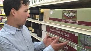 $20 Raised Bed Cold Frame Cover To Start Your Growing Season Earlier At Big Lots