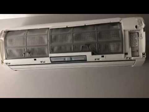 Maintaining A Fujitsu Ductless Mini-Split System - Wash Filters Monthly