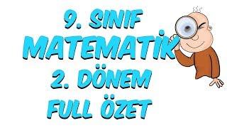9.Sınıf Matematik 2.Dönem Full Özet