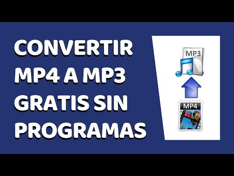 How to Convert MP4 to MP3 Without Software 2017