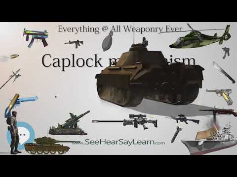 Caplock mechanism (Everything WEAPONRY & MORE
