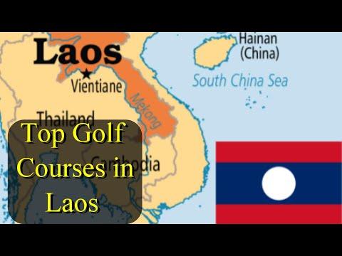 Top Golf Courses in Laos 🇱🇦