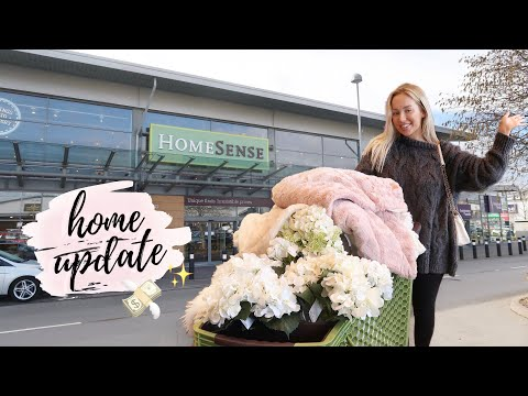 SHOP WITH ME AT HOMESENSE | HOME HAUL & HOUSE UPDATE | SPRING 2019
