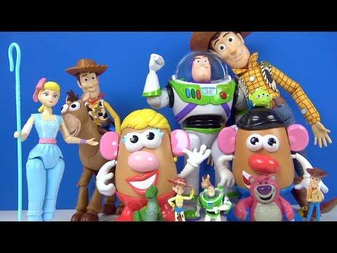 Oyuncak Hikayesi 4 Filmi Buzz Işık Yılı Bo Peep Toy Story 4 Oyuncak Açılımı Konuşan Aksiyon Figürü