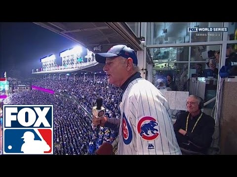 Bill Murray sings 'Take Me Out to the Ball Game' as Daffy Duck | 2016 WORLD SERIES ON FOX
