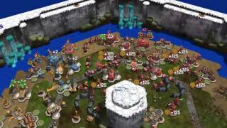 Epic Little War Game - WIP - AI Gameplay 6 way ruck