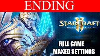 StarCraft 2 Legacy of the Void Ending Final Boss Epilogue HD Ultra Gameplay