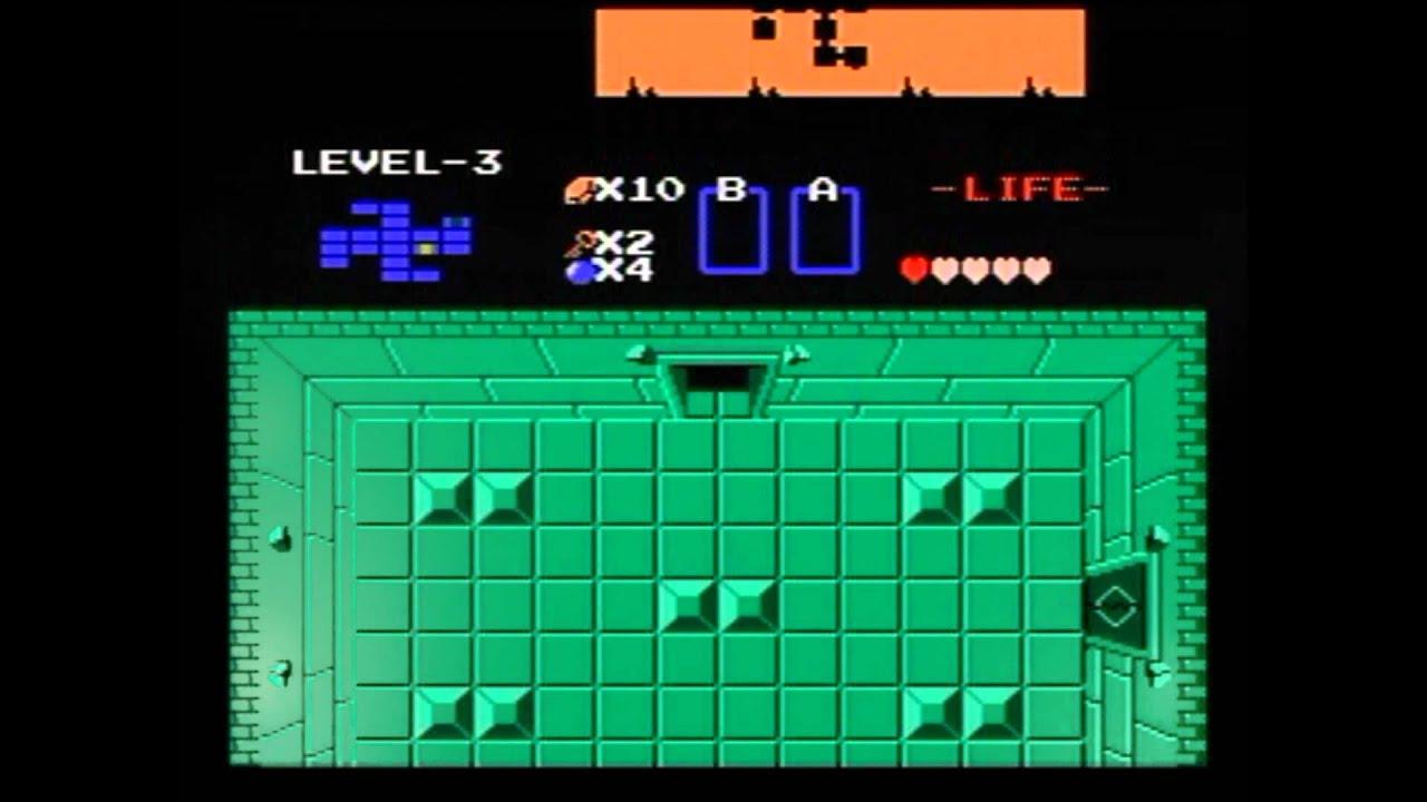 Classicthe Legend Of Zelda Walkthrough Third Dungeon Raft Nes