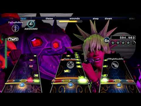 Rock Band 4 - Downfall - Trust Company - Full Band [HD]