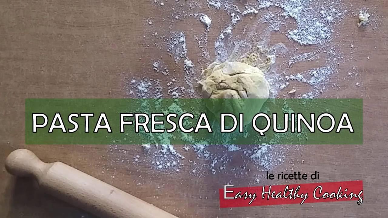 Ricetta Pasta Con Farina Di Quinoa.Ricetta Della Pasta Fresca Con Farina Di Quinoa Per Tutti I Gruppi 0 A B Ab Youtube