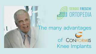 The many advantages of Conformis Knee Implants
