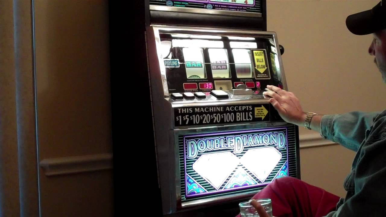 Double Diamond slot machine at home. No jackpots, no excitement ...
