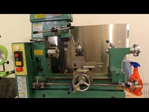 Tramming the Grizzly G4015 and other lathe/mills