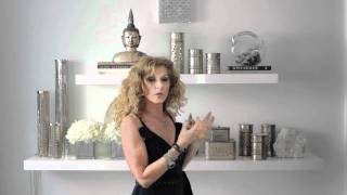 Kelly Hoppen : Bright Reflection Shelves Design