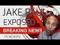 PEWDIEPIE || JAKE PAUL EXPOSED || The Angry Spud Reaction