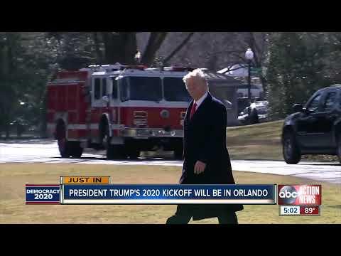 Gaby Calderon - Presidente Donald Trump anunciará su campaña de reelección en Orlando