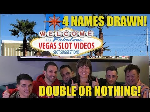 DOUBLE OR NOTHING SLOT MACHINE SUGGESTION EVENT 14
