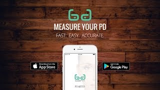 How to Measure PD using GlassifyMe App