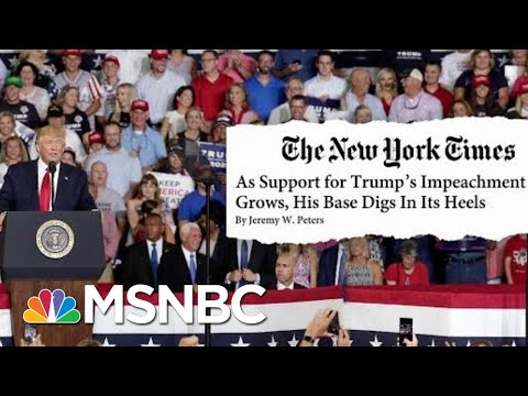 The One Group Not Leaving The President's Side Anytime Soon | Velshi & Ruhle | MSNBC