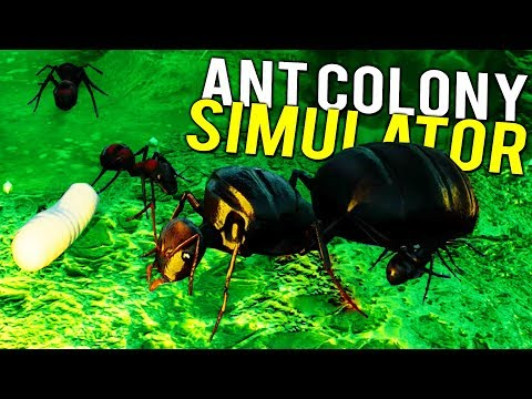 EPIC ANT COLONY SIMULATOR! WAR vs SLAVE-MAKING ANTS - NEW UPDATE Empires of the Undergrowth Gameplay