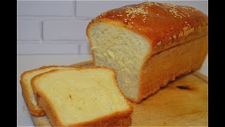 Больше хлеб не покупаем Домашний идеальный белый ХЛЕБ Простой Рецепт Хлеба в духовке