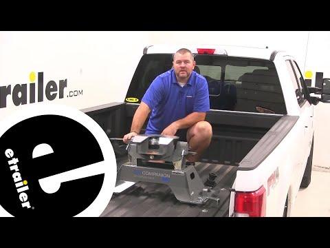 etrailer | B and W Companion OEM 5th Wheel Hitch Installation - 2019 Ford F-350 Super Duty
