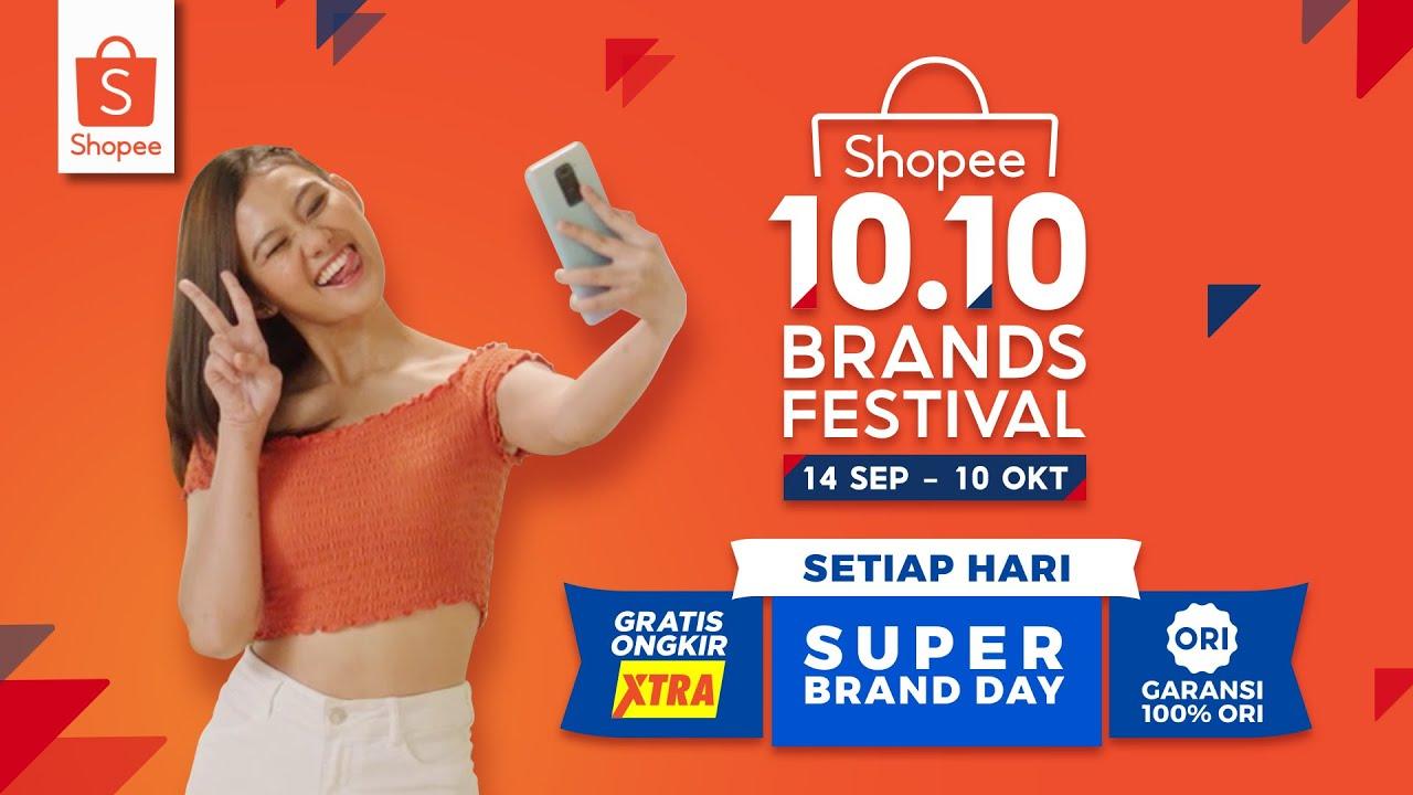 Garansi 100 Ori Di Shopee 10 10 Brands Festival Youtube