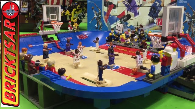 LEGO 3433 NBA Ultimate Arena Basketball set from 2003 #1
