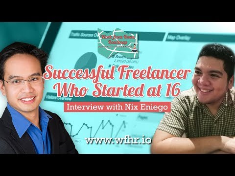 🔴 Successful Freelancer Who Started at 16   Nix Eniego   JasSuccess 012