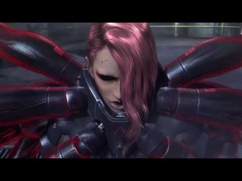 the nutshack theme but every nutshack is replaced with a metal gear rising boss battle