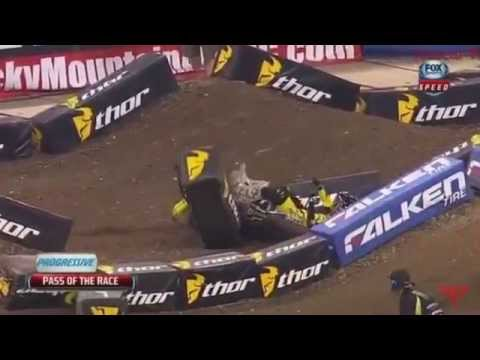 Motocross and Supercross Crashes (ALL TIME)