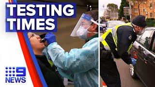 Coronavirus: Victoria testing rules ramping up | 9 News Australia