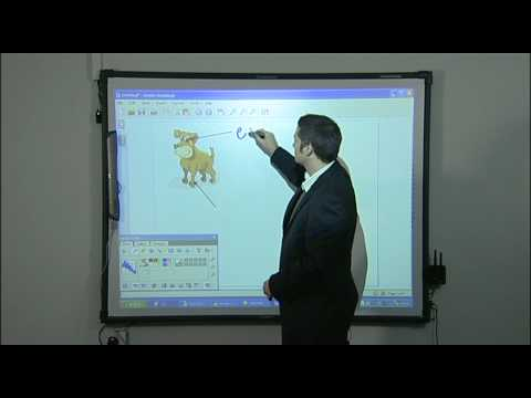Annotating Images - How to use an Interactive Whiteboard - clip 6