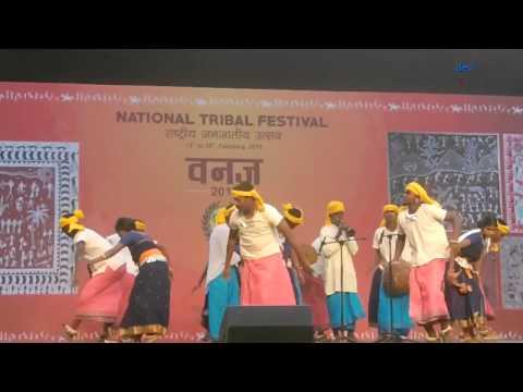 IRULAR NRITHAM, KERALA । NATIONAL TRIBAL FESTIVAL VANAJ 2015