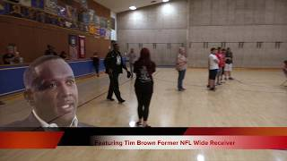 Playmakers Tim Brown Event