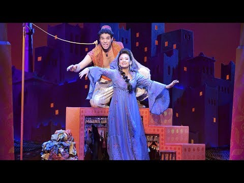 Go Behind the Scenes with Disneys Aladdin