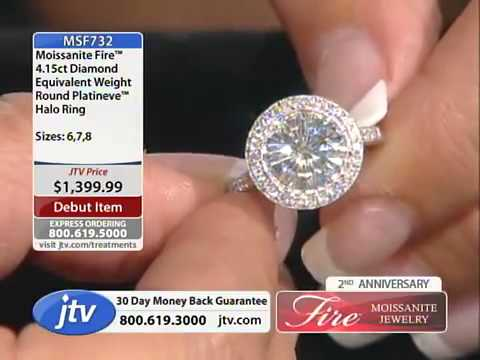 Moissanite Fire With Nikki 9 29 2013 2 00 PM   Jewelry Television   YouTube2