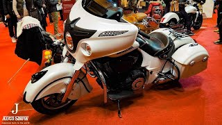 (HD)Indian Chieftain 2018 Motorcycle インディアン チーフテン - 名古屋モーターショー2017 名古屋モーターショー 検索動画 30