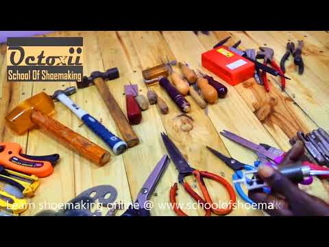 Essential Shoemaking And Crafting Tools  (online Shoemaking & Craft Course 03)