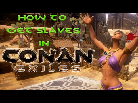 Conan Exiles - How To Capture A Slave (Thrall) and Make Gruel