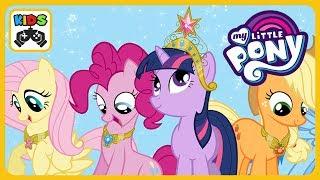 Май литл пони Радужные гонки * My Little Pony  от Budge Studios * Прохождение игры для детей #mlp