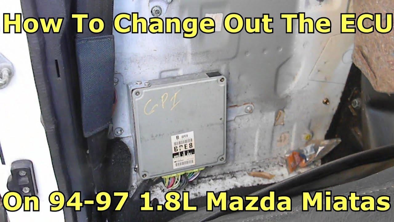 94-97 Miata 1 8L ECU DIY Replacement