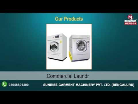 Laundry And Garment Finishing Equipment By Sunrise Garment Machinery Pvt. Ltd., Bengal
