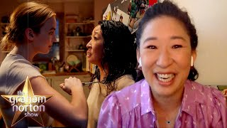 Sandra Oh & Jodie Comer Had Instant Chemistry On Killing Eve   The Graham Norton Show