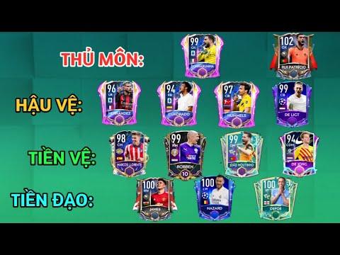 [FIFA MOBILE 21] TOP NHỮNG CẦU THỦ NGON BỔ RẺ TỪNG VỊ TRÍ PHẦN 3 | RẺ MÀ CHẤT!!!