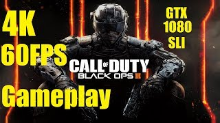 Black Ops 3 - G-Sync Gameplay - Max Settings PC Native 4K - 60FPS
